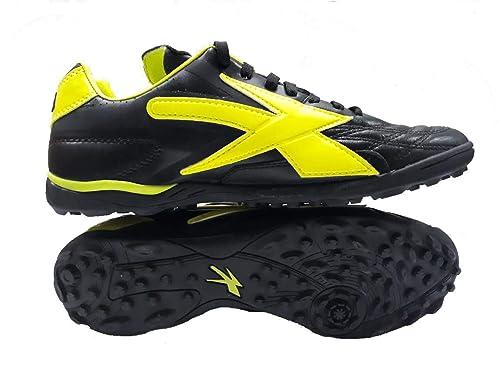 Concord Tenis Fútbol Multitaco S160QN Negro Neón 100% Piel  Amazon ... 9c7990646affd