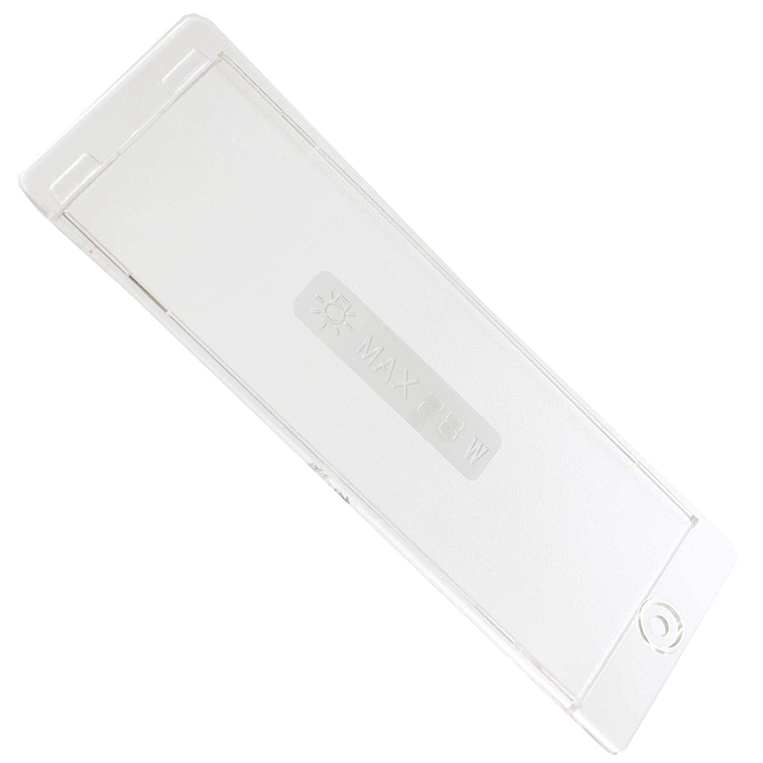 SPARES2GO Light Diffuser//Lens Cover Plate fits Ignis Cooker Hood 170mm x 63mm