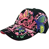 a6c58e0c80 Fletion Women Kid Girls Flower Hat Tennis Cap Golf Cap Sunscreen Sun Hats