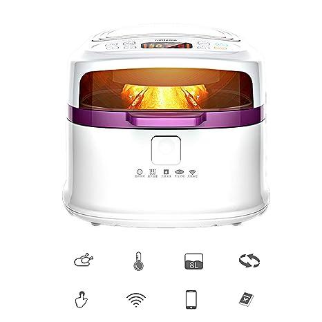 XULONG Freidora De Aire Inteligente, 8 litros/8 Quarts De Gran Capacidad WiFi Link