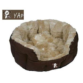 Diseño de estampado de jirafa Peluchi de perro Yap cama para Oval 76,2 cm