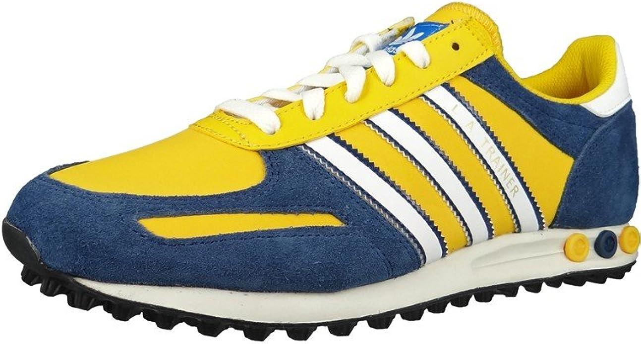 adidas Sneaker LA Trainer Yellow Blue