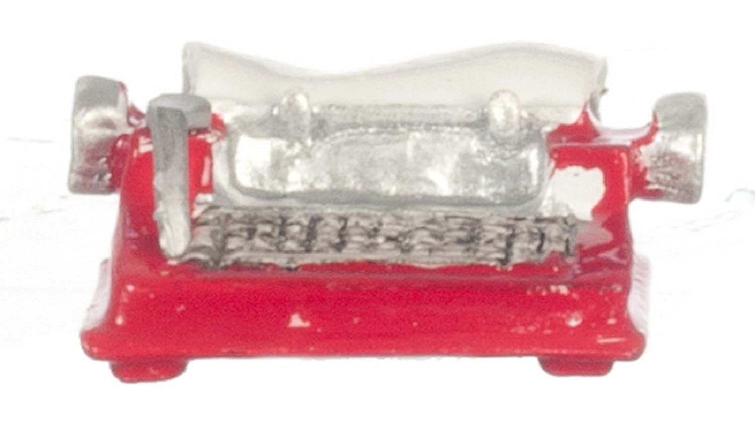 Dollhouse Miniature 1:12 Scale RED Typewriter #G8579 AZTEC IMPORTS