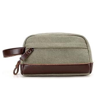 Amazon.com   Fmeida Cosmetic Makeup Bag Portable Travel Toiletry Bag  Organizer Shaving Dopp Kits for Men (Army Green)   Beauty 3cb2c7f4ec77d