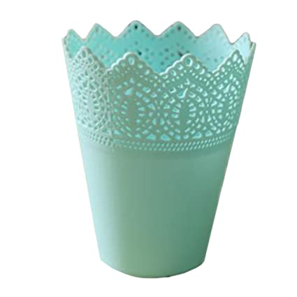 Amazon Thee Floral Hollow Flower Vase Decorative Small Plastic
