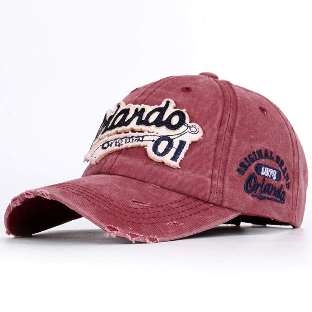 Wine Outdoor Sports hat Baseball Cap Retro Men's Baseball Cap Ladies Snapback Hat Mens Truck Driver Embroidery Bone Retro Letters Dad Male Hat GrljdHat