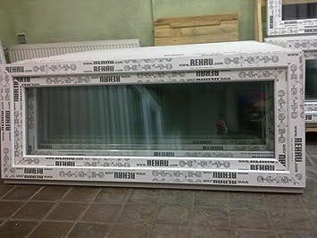 Großartig Kunststofffenster 150 x 60 (b x h), Rehau, 1 flügelig, weiss, kipp  DV31