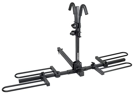 """img buy Venzo 2-4 Bike Bicycle Platform Style Carrier - Bike Rack for Car Tow Hitch Receiver Mount Size 2"""" or 1.25"""" - Sturdy & Rust Proof"""
