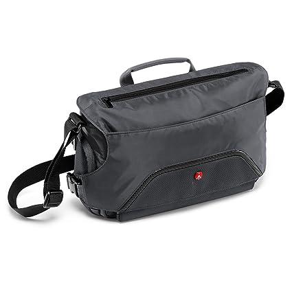 Manfrotto Advanced Pixi Messenger Bag for Camera - Grey  Amazon.co ... 07accda08e56b