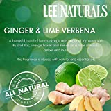 Lee Naturals Classics - (2 Pack) GINGER & LIME VERBENA Premium All Natural 6-Piece Soy Wax Melts. Hand Poured Naturally Strong Scented Soy Wax Cubes