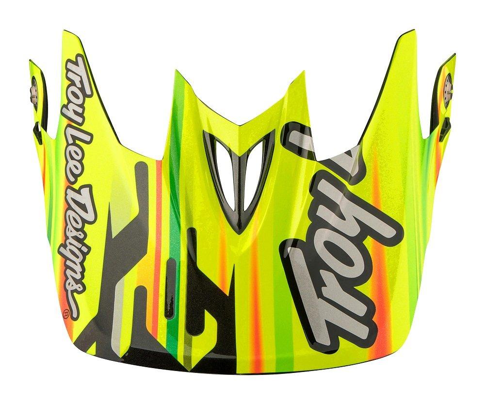 Troy Lee Designs Adult D3 Visor Code BMX Helmet Accessories Yellow//One Size
