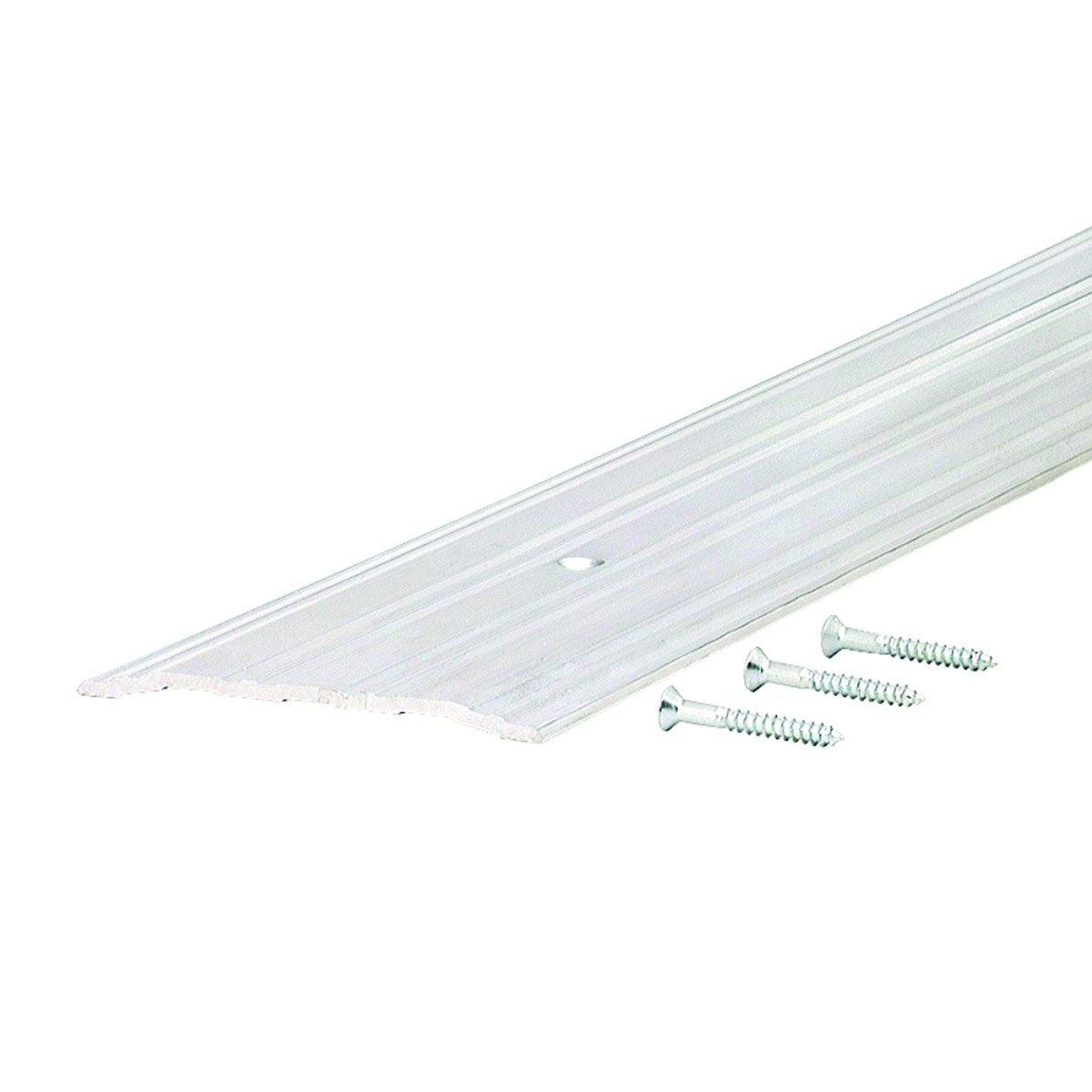 Commercial 4'' Wide Low Fluted Top Aluminum Door Threshold #99062