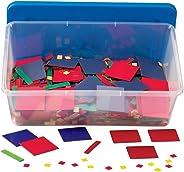 hand2mind Plastic Algebra Tiles Classroom Kit (30 Sets of 32 Pieces)
