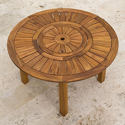 Hammacher Schlemmer Lazy Susan Outdoor Patio Dining (Lazy Susan Outdoor Table)