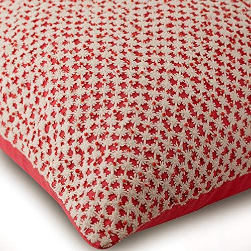 Amazon.com: Almohadas de coral Cover, ganchillo funda de ...