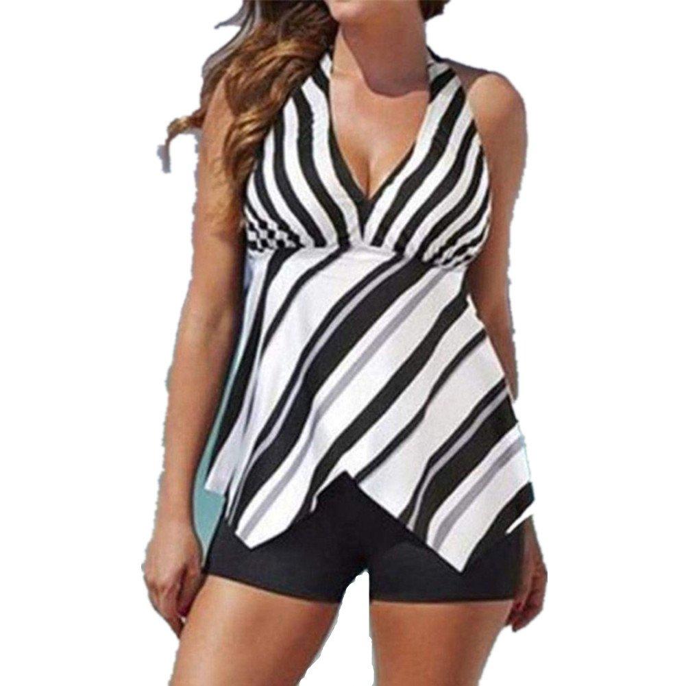 Jipai TM Conjunto Tankini Mujer Faldas de Pastel Dos Piezas ...