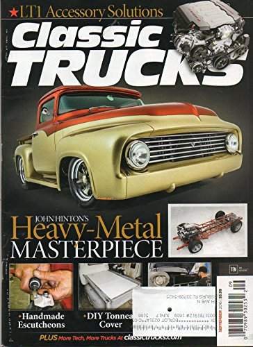 Classic Chevy Pickup Parts (Classic Trucks 2016 Magazine JOHN HINTON'S 1956 FORD F-100 HEAVY-METAL MASTERPIECE LT1 Accessory Solutions)