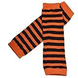 DDLBiz Boys Girls Cute Lovely Soft Warm Striated Kneepad Socks Leg Warmer Stockings