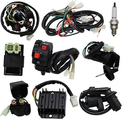 OTOHANS AUTOMOTIVE kit completo de arnés de cableado eléctrico ...