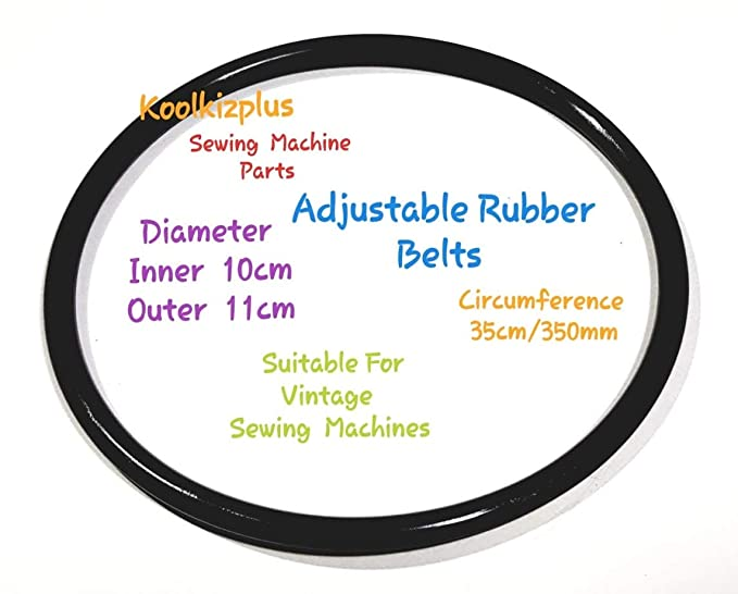 SEWING MACHINE BELT  TOP QUALITY Stretchable Rubber