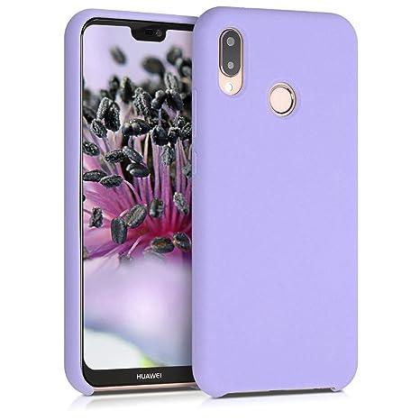 codice promozionale a2842 12d6d kwmobile Huawei P20 Lite Cover - Custodia per Huawei P20 Lite in Silicone  TPU - Back Case Cellulare Lavanda