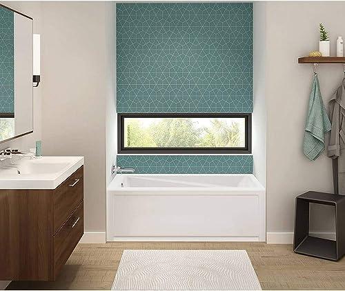 MAAX 105520-L-000-001 Exhibit Rectangular Acrylic Soaking Bathtub