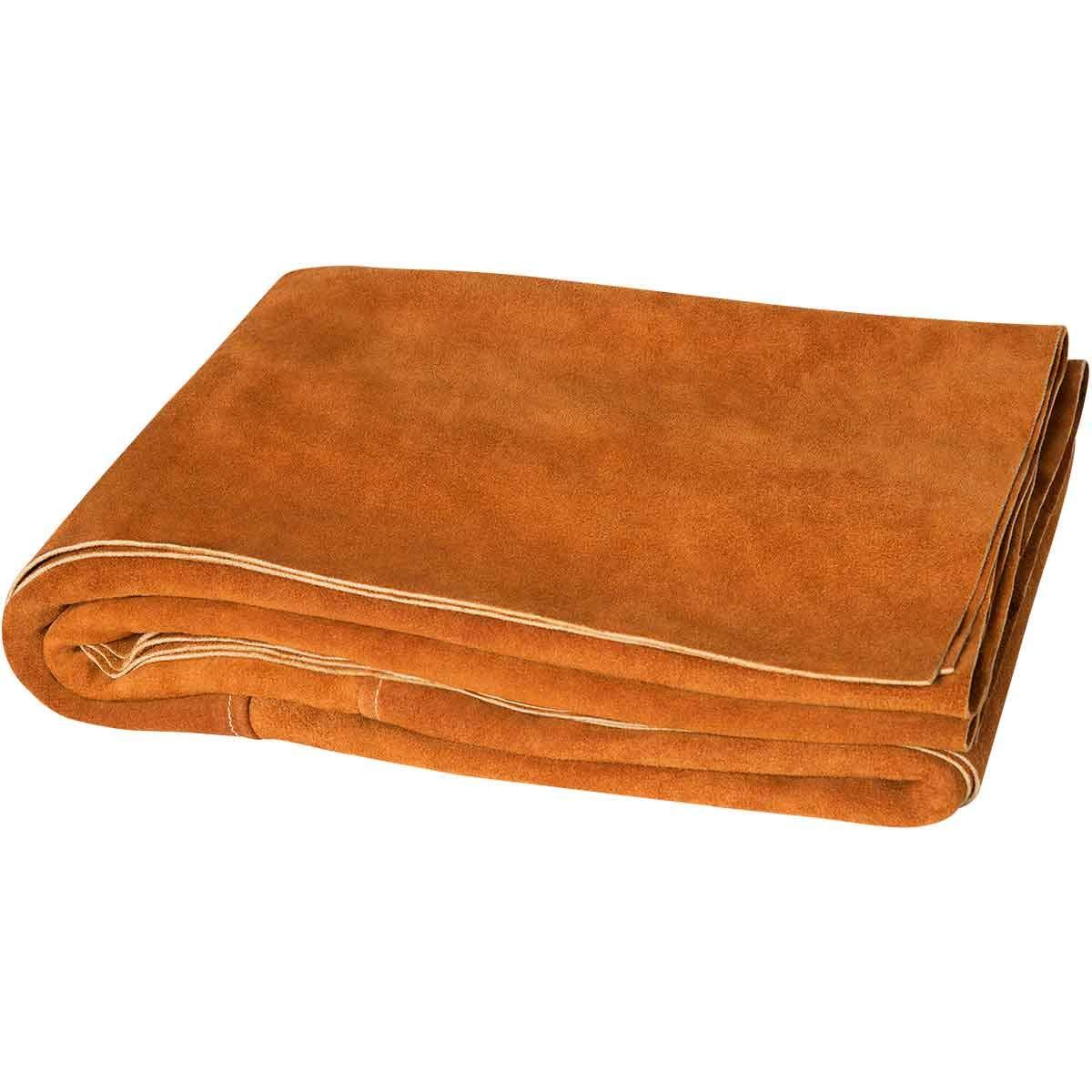 Steiner 321-6X6 Side Split Cowhide Leather Welding Blanket, 6' x 6' by Steiner
