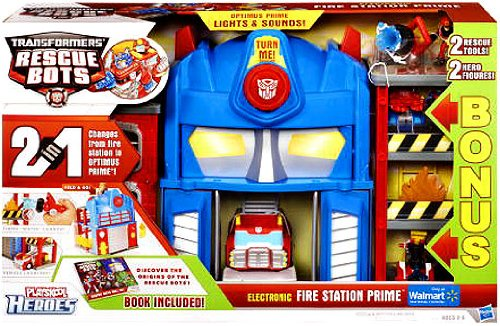 Transformer Station (Transformers Rescue Bots EXCLUSIVE BONUS Electronic Playset Fire Station Prim...)