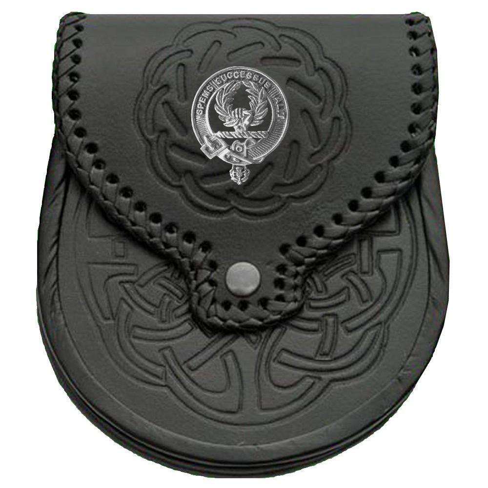 Ross Scottish Clan Crest Badge Sporran