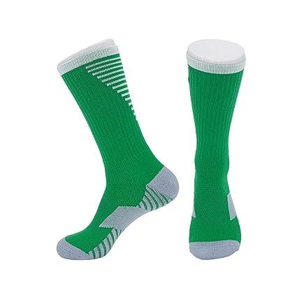 STFXSX Calcetines de Baloncesto de fútbol Calcetines en el Tubo Alto para Ayudar a los Calcetines