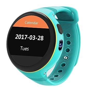 MRXUE Relojes Inteligentes rastreador de Actividad Fitness, Monitor de Ritmo cardíaco Impermeable para niños Mujeres