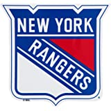 "NHL New York Rangers 3.75"" x 4"" Window Cling"