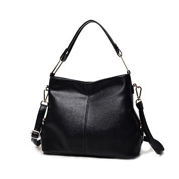 c8c5118558a10 Damen weiches PU Leder Handtaschen Henkeltaschen Elegante Umhängetasche  Schultertasche Designer Hobo Taschen groß für Frauen Mädchen