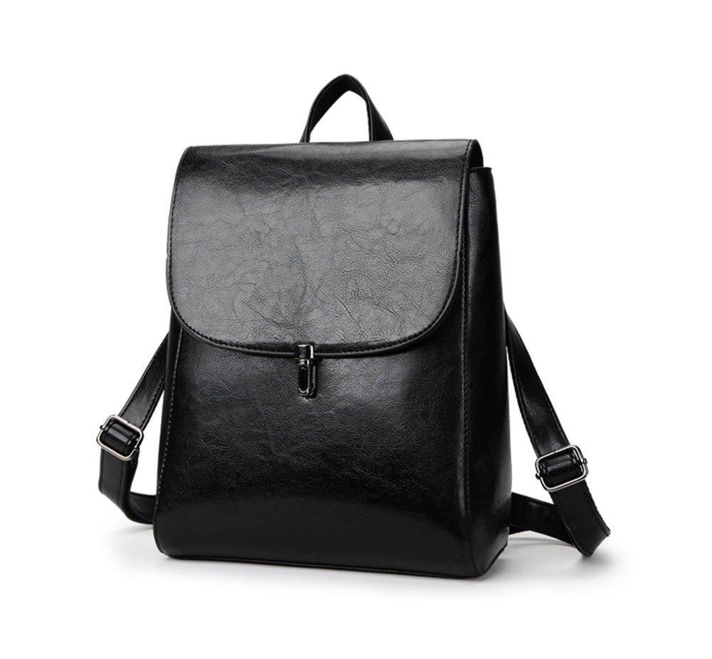 SJMMBB Multi-Functional Backpack Fashion Student Bag,Black,29X23X12Cm