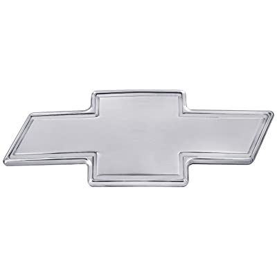 All Sales 96171P Chevy Grille Emblem with Border: Automotive