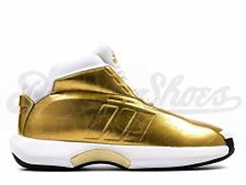 on sale 45a78 87cf8 Adidas AS SMU Crazy 1 Very Limited Mens Size 9 Gold White Red C76216  Amazon.ca Shoes  Handbags