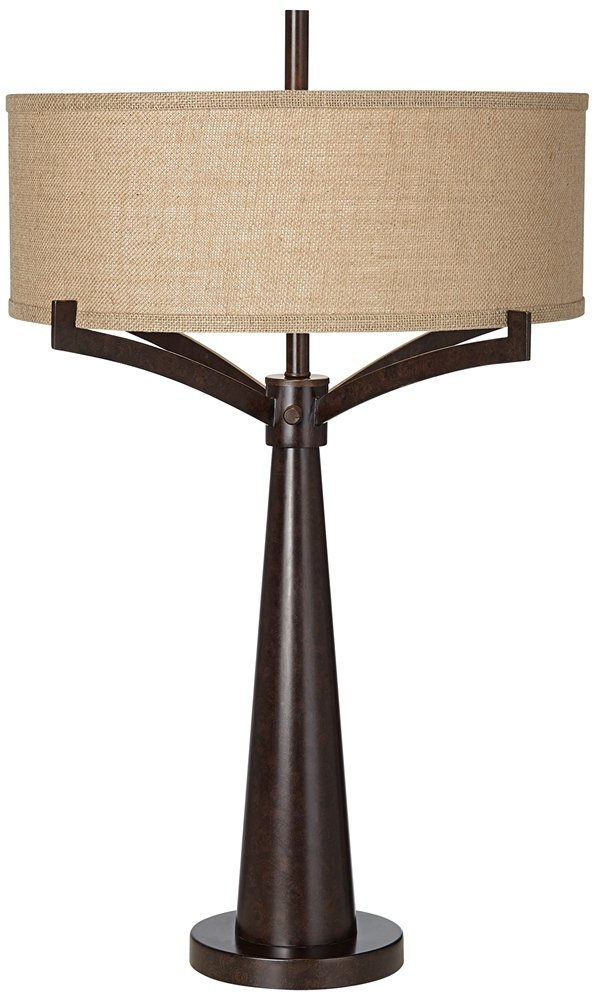 Tremont bronze iron table lamp amazon aloadofball Image collections
