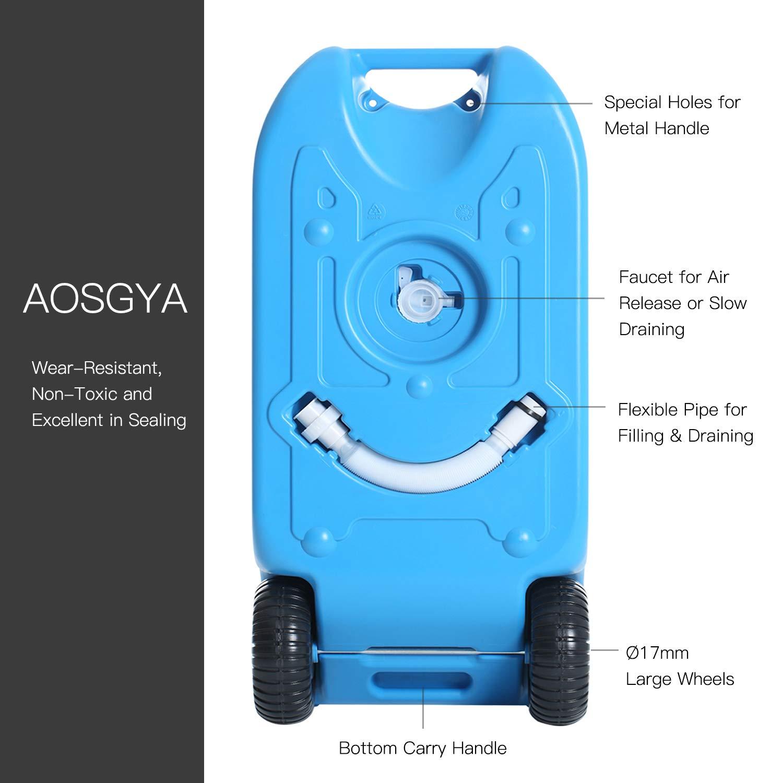 Amazon.com: AOSGYA - Depósito de agua para residuos con ...