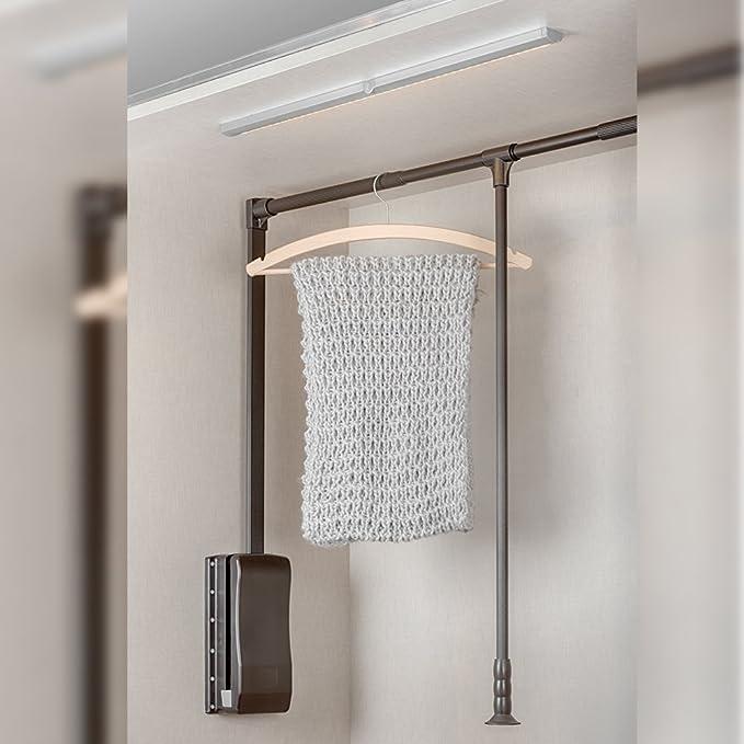 Emuca Lámpara LED Inclinada para Armario/Mueble con Sensor de Movimiento Integrado, Blanco Frío y Anodizado Mate, L 395mm: Amazon.es: Iluminación