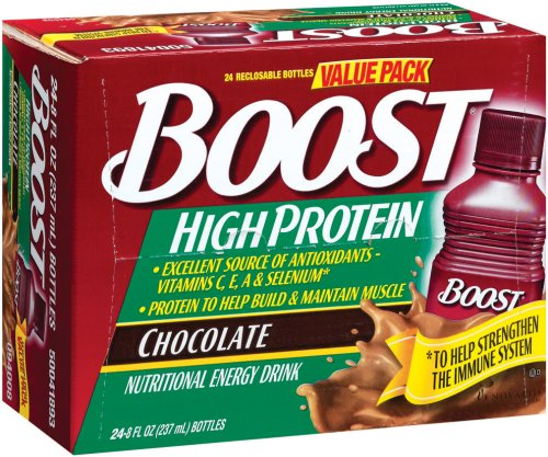 Boost High Protein Energy Drink 8 Oz: Boost High Protein Nutritional Energy Drink, Chocolate, 8