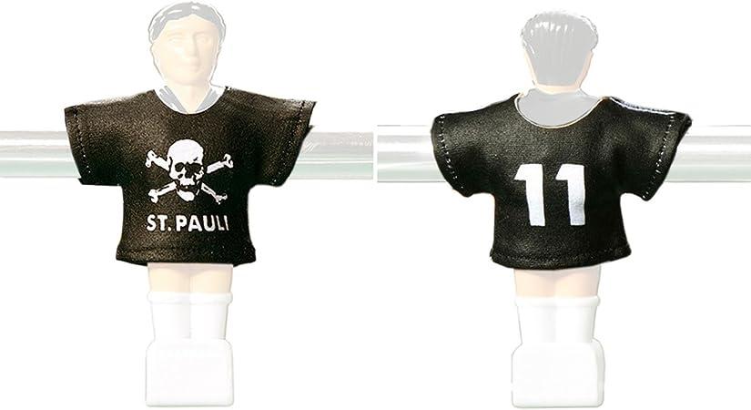 Kicker Trikot - Set de camisetas del St. Pauli para muñecos de futbolín: Amazon.es: Deportes y aire libre