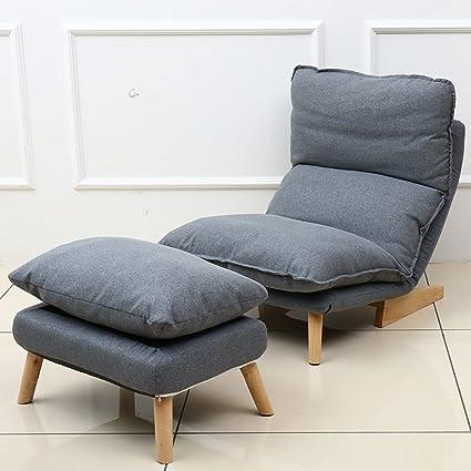 Presidente individuo Perezoso sofá reclinable Ajustable del ...