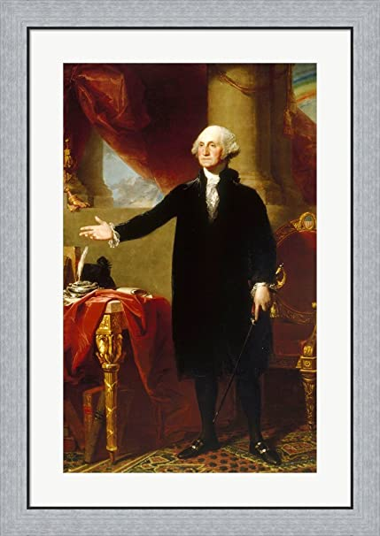 Amazon Gilbert Stuart George Washington Lansdowne Portrait