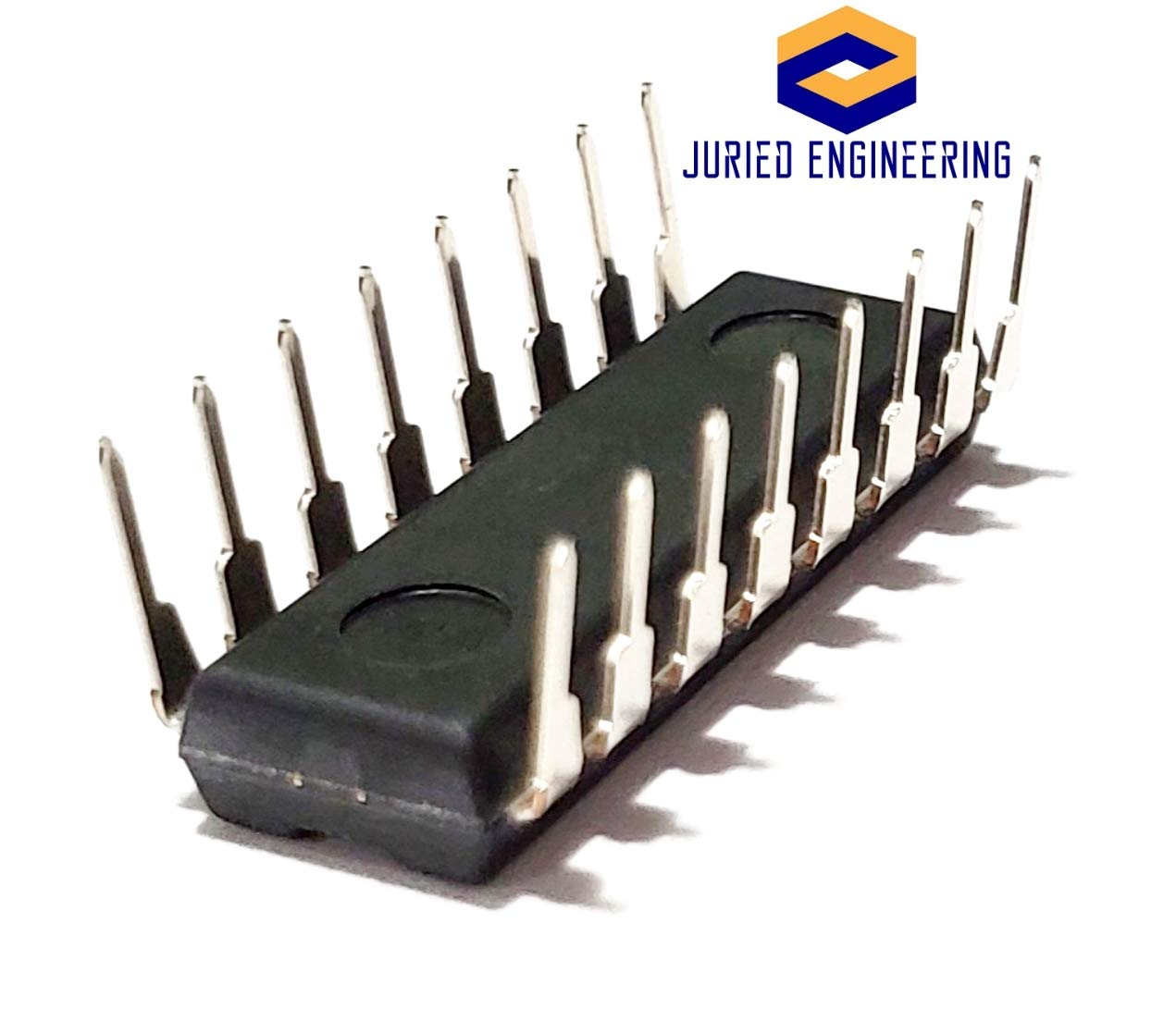Pack of 2 Juried Engineering PCF8574N PCF8574 Remote 8-Bit I//O Expander for I2C-Bus Breadboard-Friendly IC DIP-16