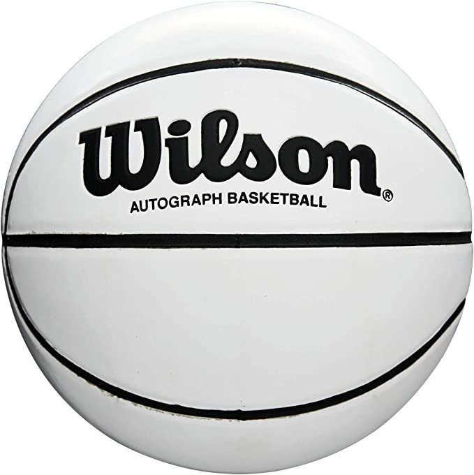 Wilson WTB0503 Pelota de Baloncesto Autograph Mini para ...