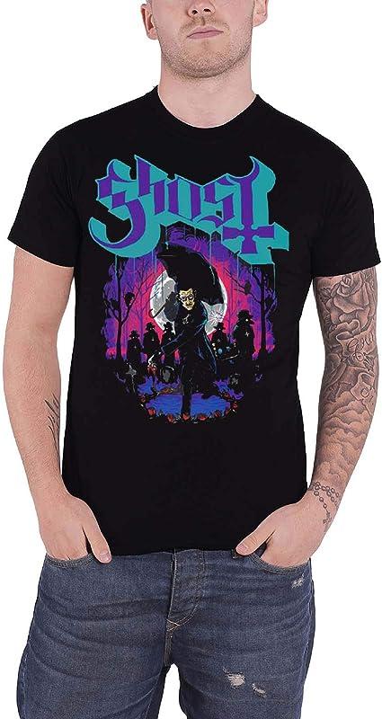 Ghost T Shirt Ashes Band Logo Prequelle Nouveau Officiel Homme