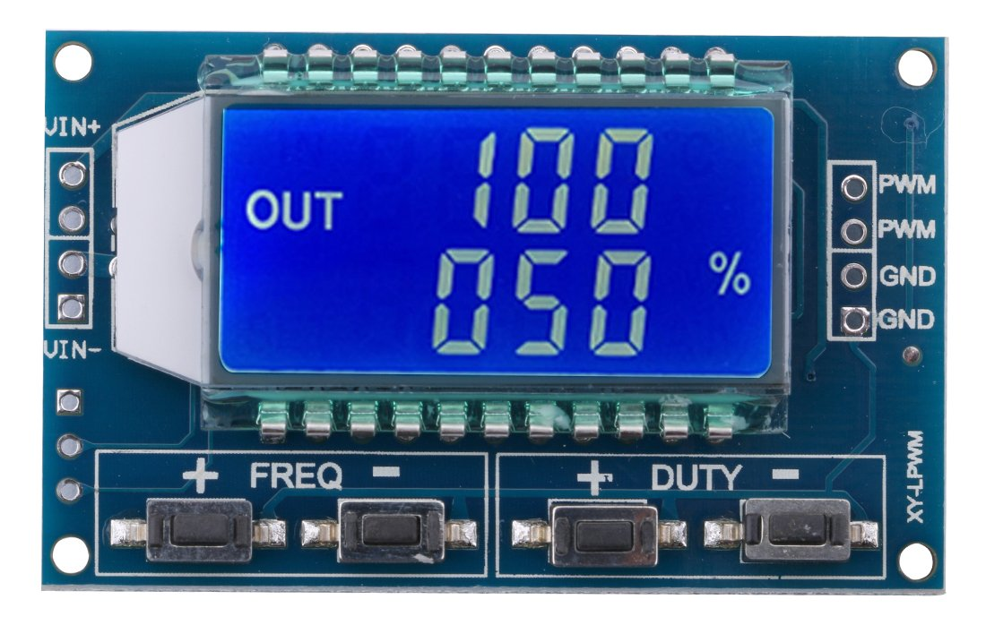 Yeeco LCD 1Hz-150kHz PWM Frequency Meter Tester 0-100% Adujustable Duty Ratio Square Rectangular Wave Pulse Signal Generator Module Board by Yeeco