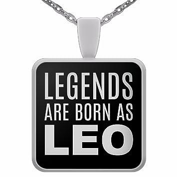 Amazon com : Funny Options Com Leo Necklace for Men - Zodiac