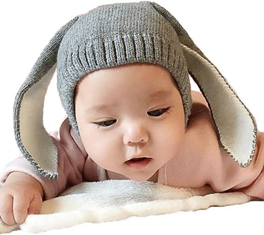 Xinantime Gorros Bebé,Xinan Niño Niña Invierno Sombrero Orejas de ...