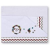 Pirulos 00913510 - Tríptico sábanas, diseño espin, 80
